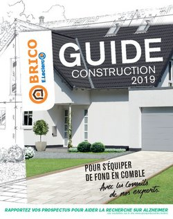 Guide construction 2019