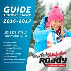 Guide Automne/Hiver