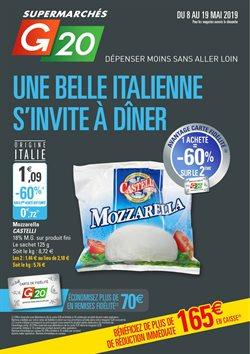 Una belle italienne s'invite à dîner