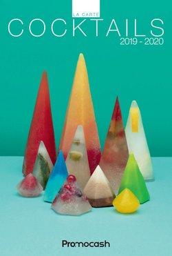 Carte cocktails 2019-2020