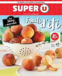 LES JOURS DU MARCHÉ FRUITS D'ÉTÉ