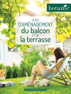 Guide d'aménagement du balcon et la terrasse