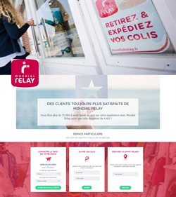 Catalogue Mondial Relay