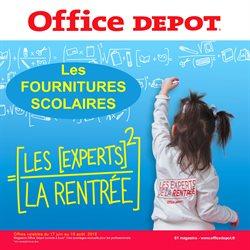 Office Depot, l'expert de la rentrée! et profitez du service de preparation de liste scolaire en magasin gratuitement.