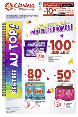 Catalogue Casino Supermarchés