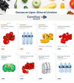 Httpcalendrier Carrefourdrivecom.Carrefour Drive Prospectus Catalogue Et Reduction