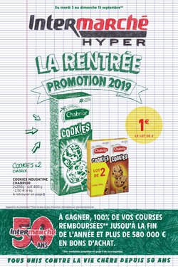 LA RENTREE PROMOTION 2019