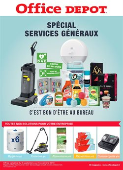 Votre catalogue special Services Géneraux !