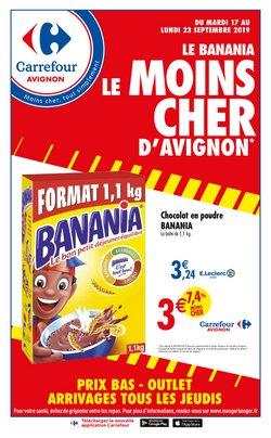Le banania le moins cher d'Avignon