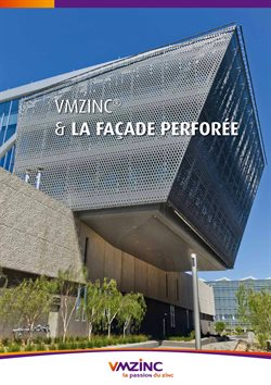 WMZinc & La Façade Perforée