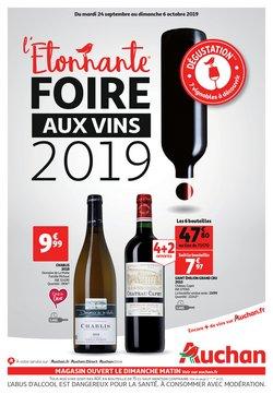 L'étonnante foire aux vins 2019 !