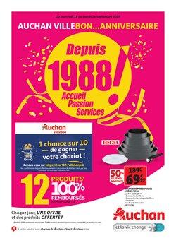 Auchan Villebon...anniversaire