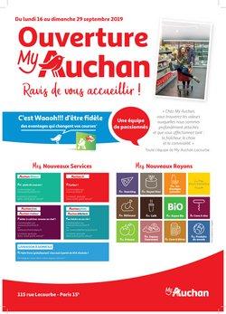 Ouverture myAuchan