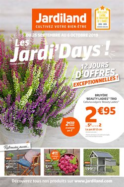 Les Jardi'Days!