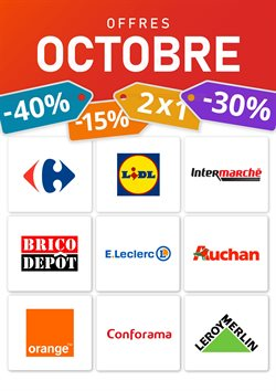Dernières offres de Octobre !