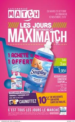 Les jours supermarché Maximatch