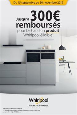 Jusqu'à 300€ remboursés pour l'achat d'un produit Whirlpool éligible