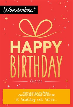 Happy Birthday - Émotion