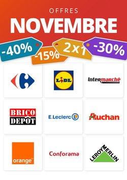 Dernières offres de Novembre!