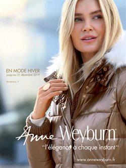 Anne Weyburn - Hiver 2019