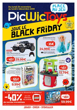 Offres PicWicToys Black Friday