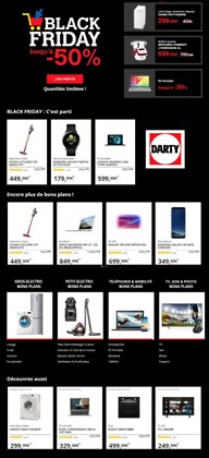 Offres Darty Black Friday