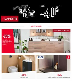 Offre Lapeyre Black Friday