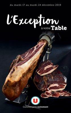 L'Exception à votre Table