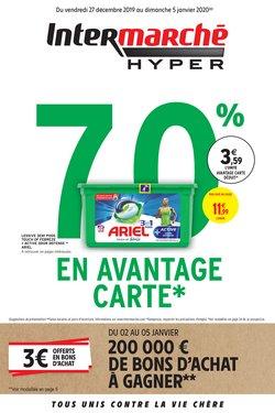 70 % EN AVANTAGE CARTE*