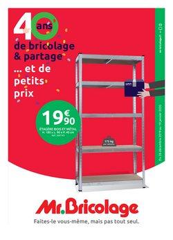 Catalogue Mr Bricolage