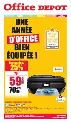 UNE ANNÉE D'OFFICE BIEN ÉQUIPÉE!