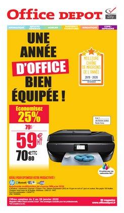 UNE ANNÉE D'OFFICE BIEN ÉQUIPÉE