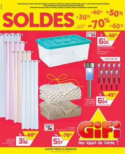 Soldes Gifi