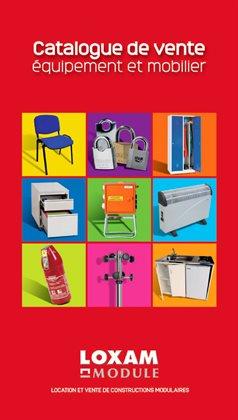 Catalogue de vente - Équipement et mobilier