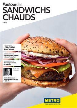 Sandwichs Chauds