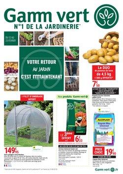 Catalogue Gamm Vert en février 2020