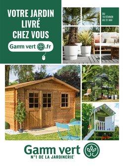 Catalogue Gamm vert
