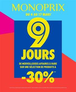9 JOURS de merveilleuses affaires à faire : -30% sur une sélection de produits !