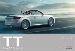 Tarifs Audi TT Coupé