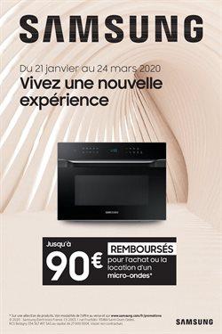 SAMSUNG VOUS REMBOURSE JUSQU'À 90€ POUR L'ACHAT