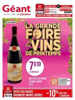 La grande foire aux vins de printemps