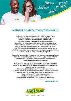 Mesures de précaution Coronavirus