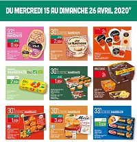Catalogue Supermarché Match en avril 2020