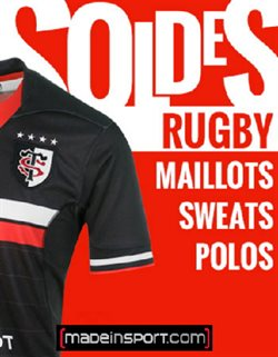 Soldes Rugby