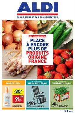 Les produits FRAIS et FRANÇAIS à la UNE !