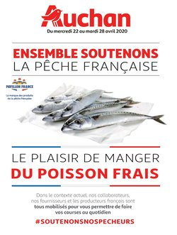 Ensemble soutenons la pêche Française