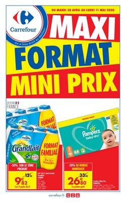 MAXI FORMAT MINI PRIX