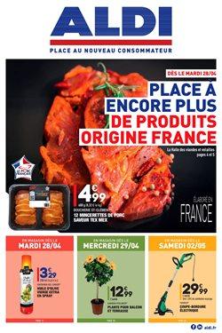Place à encore plus de produits Origine France