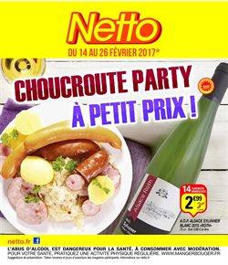 Choucroute party à petit prix!