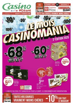 Le mois Casinomania
